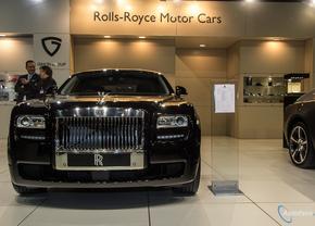 Live in Brussel 2014: Rolls-Royce Ghost V-Spec
