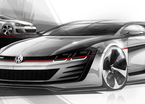 VW Design Vision Golf GTI in Wörthersee