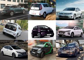 9 ideale Elektrische auto's 2018