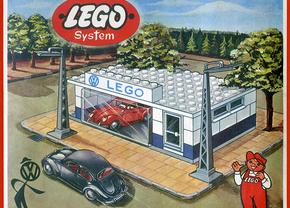 Lego Volkswagen Esso 1950s