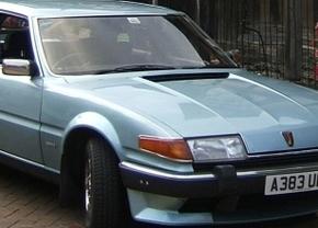 Vergeten auto #34: Rover SD1