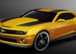 Chevrolet Camaro Bumblebee acteert in Transformers 3