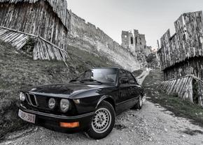 BMW E28 road trip