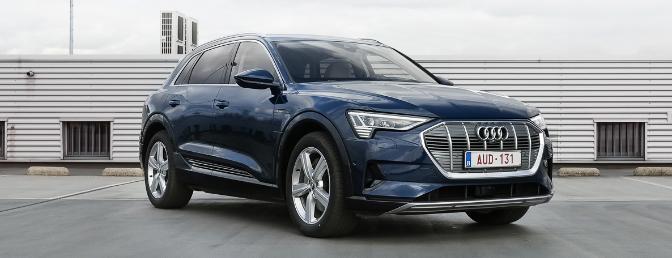 Audi e-tron rijtest