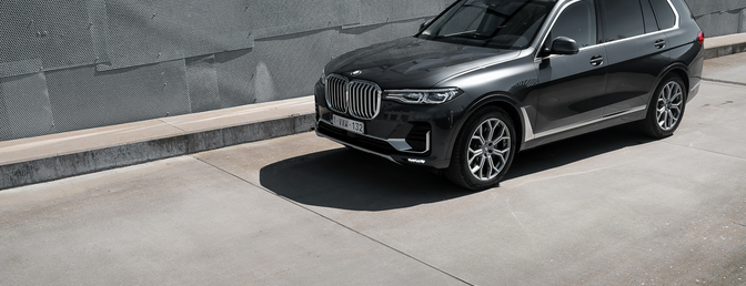 BMW X7 rijtest 2019