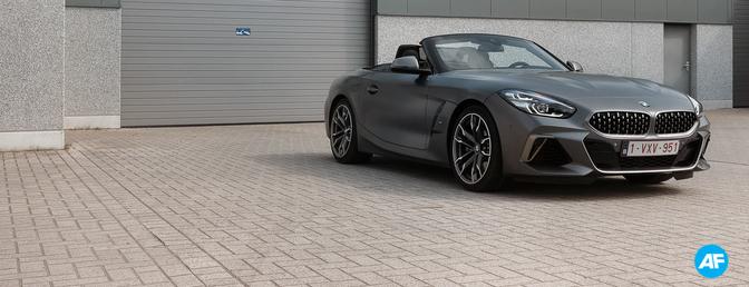 2019 BMW Z4 M40i rijtest