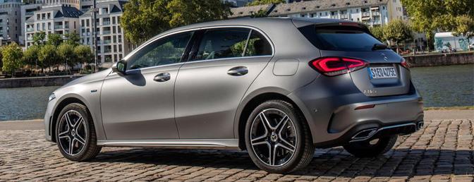 Mercedes A 250 e plug-in hybride rijtest review A-Klasse Hybrid