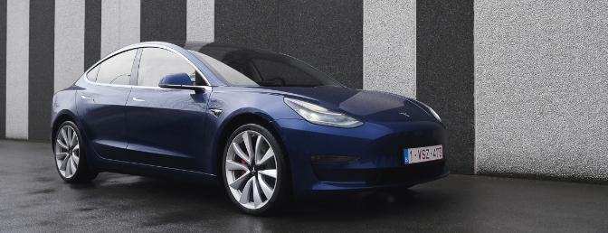 Tesla Model 3 Rijtest 2019