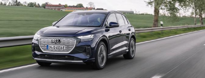 Audi Q4 e-tron essai 2021