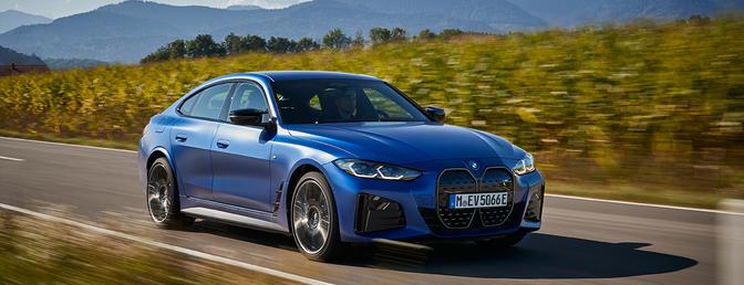 Essai BMW i4 M50 2021
