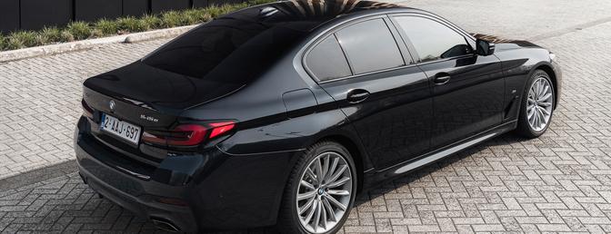BMW 545e xDrive 2021 test