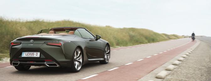 Lexus LC 500 Cabrio essai 2021