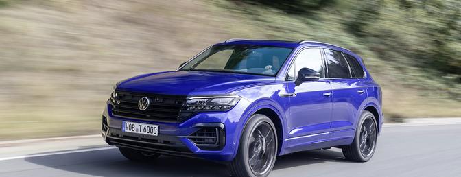 Volkswagen Touareg R 2021 test