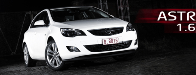 Rijtest : Opel Astra 1.6T