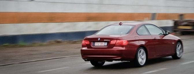 Rijtest BMW 320d E92 2010