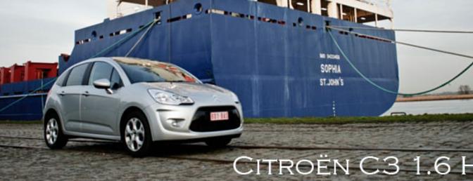 Rijtest Citroën C3 1.6 HDi