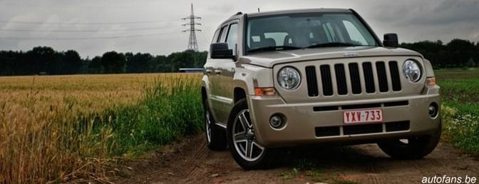 Rijtest : Jeep Patriot 2.0CRD