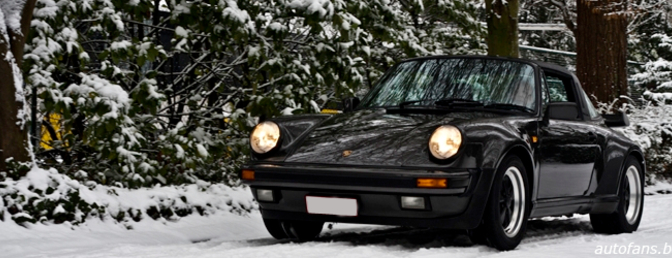 Porsche 911 Turbo Targa 1989