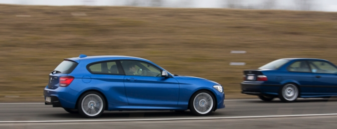 Rijtest: BMW M135i ontmoet BMW E36 M3 3.2 [video]