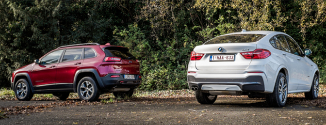 rijtest-bmw-x4-35i-vs-jeep-cherokee-trailhawk-3.2-v6