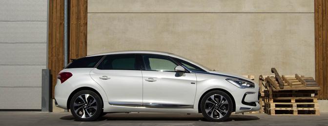 Rijtest: Citroën DS5 HYbrid4