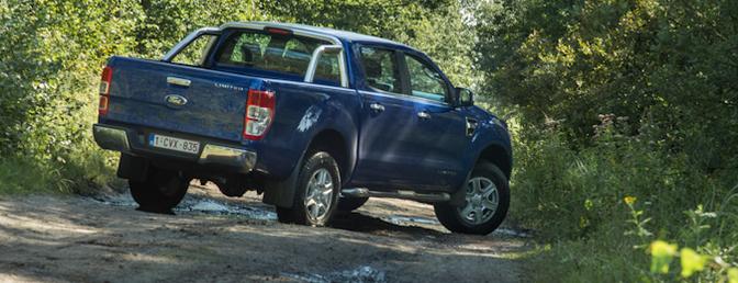 Rijtest: Ford Ranger 2.2d Limited