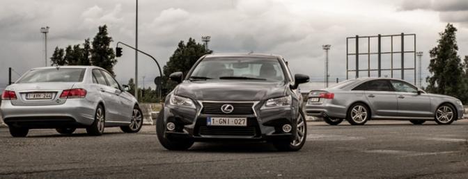 Audi-A6-2.0-TDI-Ultra-Mercedes-E200-CNG-Lexus-GS-300h