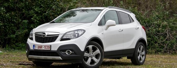 Rijtest: Opel Mokka 1.4 Turbo 4x4