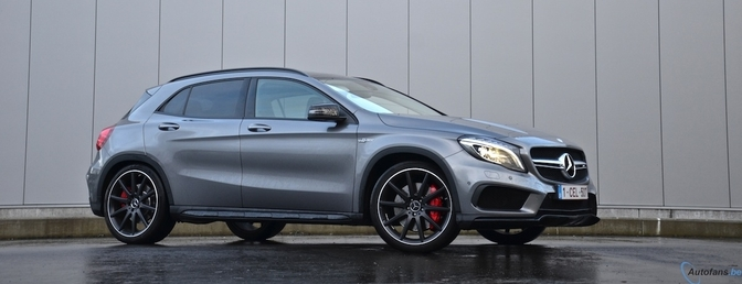 Rijtest: Mercedes GLA 45 AMG